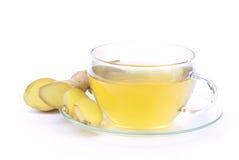 Gingembre de thé photos stock