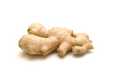 Ginger. Fresh ginger isolated on a white background Royalty Free Stock Photos