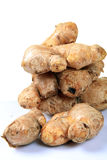 Ginger. Closeup shot of raw ginger Stock Image