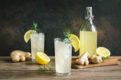 Ginger ale immagine stock