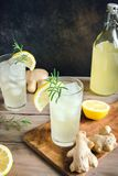 Ginger Ale ou Kombucha photo libre de droits
