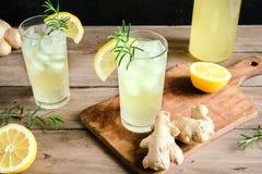 Ginger Ale ou Kombucha photo stock