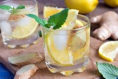 Ginger Ale-Soda lizenzfreie stockbilder