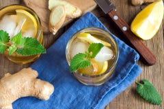 Ginger ale soda Stock Image