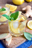 Ginger ale soda Royalty Free Stock Images