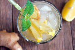 Ginger ale soda Stock Photos