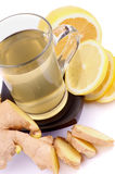 Ginger And Lemon Tea Stock Image