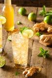 Ginger Beer dorato di rinfresco fotografie stock