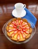 Ginger Biscuit Tart Stock Photos
