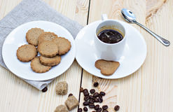 Ginger biscuits Royalty Free Stock Photos