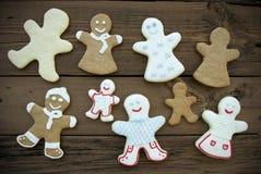 Ginger Bread Community heureux Photographie stock libre de droits