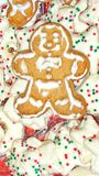 Ginger bread cookies. Food chritmas food Stock Images