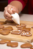 Ginger bread cookies Royalty Free Stock Photos