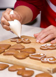 Ginger bread cookies Stock Photo