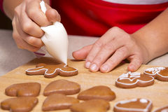Ginger bread cookies Royalty Free Stock Photography