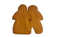 Ginger bread couple Stock Photos