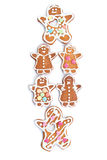 Ginger bread Royalty Free Stock Images