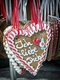 Ginger bread heart Stock Image