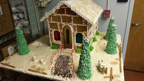 Ginger Bread House Stockfotos