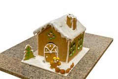 Ginger bread house Royalty Free Stock Photos