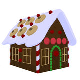 Ginger Bread House Illustration Stock Photo