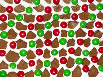 Ginger bread house roof Royalty Free Stock Photography