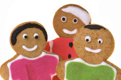Ginger Bread Isolated Royalty Free Stock Photo
