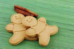 Ginger bread men Stock Photos