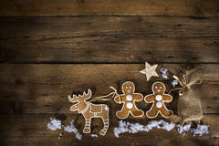 Ginger bread men Stock Photo