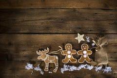 Ginger bread men Stock Photo