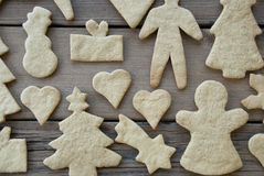 Ginger Bread Texture Stock Images
