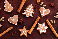 Ginger breads Royalty Free Stock Photos