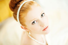 Ginger bride Royalty Free Stock Photo