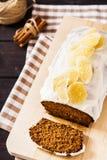 Ginger Cake Fotografia Stock Libera da Diritti