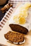 Ginger Cake Fotografia Stock