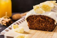Ginger Cake Fotografie Stock