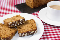 Ginger cake Stock Photography
