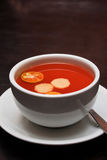 Ginger Calamansi Tea Royalty Free Stock Photos