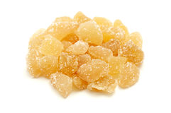 Ginger candy Stock Image