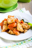 Ginger chicken breast Royalty Free Stock Photo