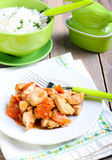Ginger chicken breast Royalty Free Stock Photography