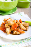 Ginger chicken breast Royalty Free Stock Photos