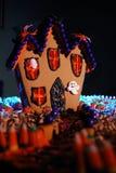 ginger chlebowy nawiedzony dom Zdjęcie Royalty Free