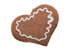 Ginger Christmas cookie. Royalty Free Stock Photos