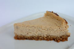 Ginger and cinnamon cheesecake. Christmas cheesecake made with spices Royalty Free Stock Photo