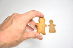 Ginger Cookie. Royalty Free Stock Photography