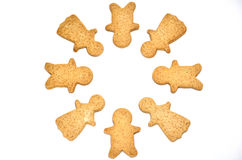 Ginger Cookie. Royalty Free Stock Images