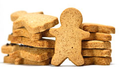 Ginger Cookie. Stock Photos