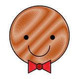 Ginger cookie christmas icon. Vector illustration design vector illustration