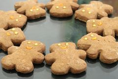 Ginger Cookies Royalty Free Stock Photo